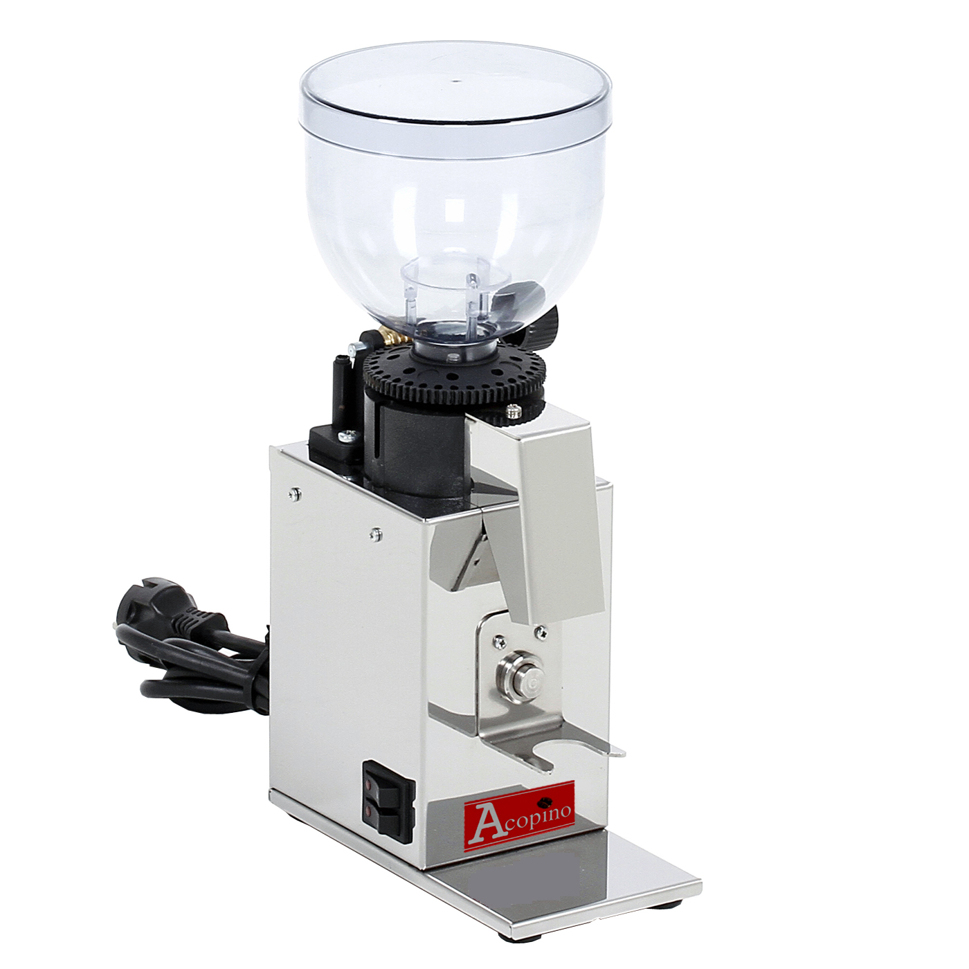 acopino arona elektrische kaffeem hle mit kegelmahlwerk. Black Bedroom Furniture Sets. Home Design Ideas