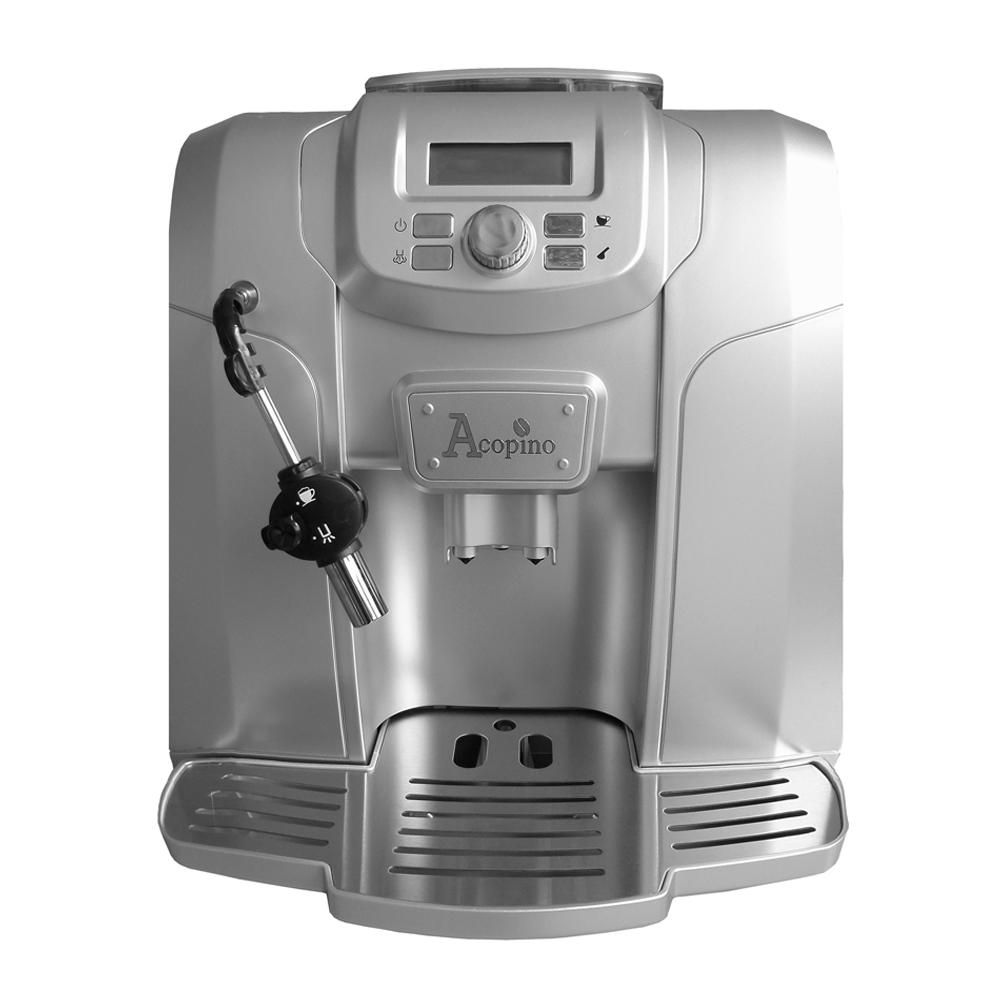 acopino ravenna kaffeevollautomat espressomaschine silber 755717332547 ebay. Black Bedroom Furniture Sets. Home Design Ideas